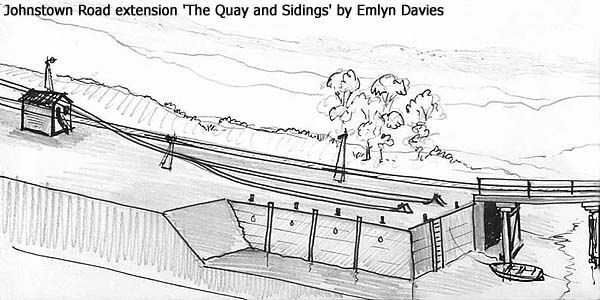 Johnstown Road Quay Sidings by Emlyn Davies